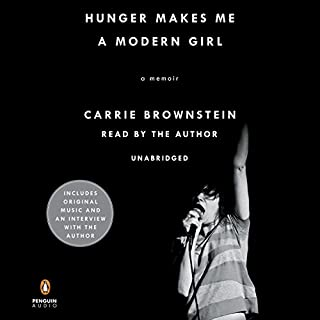 Hunger Makes Me a Modern Girl audiobook cover art