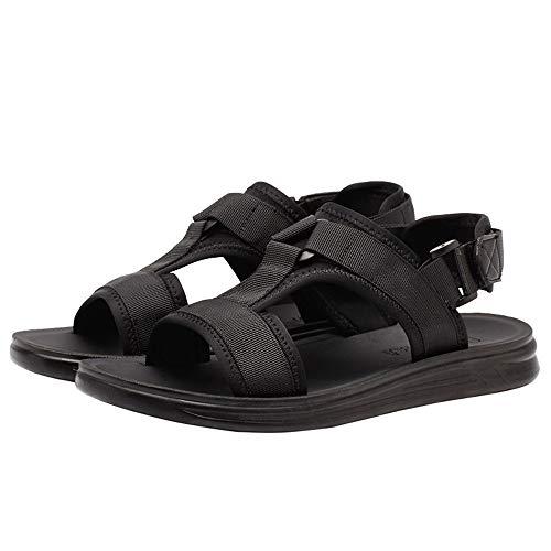 ALLAK Light Weight Comfort Flip Flops, Slides & Sandals for Men(Black-Lable 41/7.5 D(M) US Men)