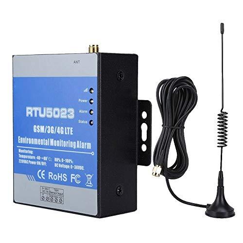 Katigan Monitor de Humedad de Temperatura GSM Alarma de PéRdida de AlimentacióN de AC/Monitor Remoto Soporte de Temporizador Informe de Control de APP RTU5023 Enchufe de la EU