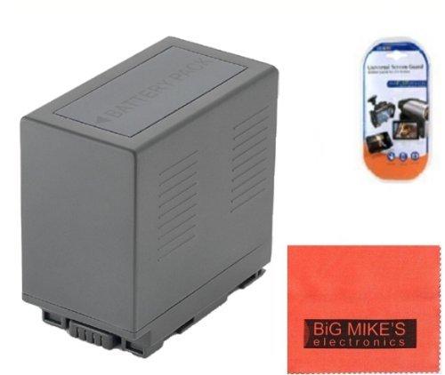 CGA-D54 Battery for Panasonic CGA-D54S, AG-3DA1, AG-AC8PJ, AG-AC90A, AG-DVC30, AG-DVC32, AG-DVC60, AG-DVC62, AG-DVC80, AG-DVX100, AG-DVX100A, AG-DVX100B, AG-DVX102A, AG-HPX250PJ AG-HPX255, AG-HVX200, HC-MDH2, HDC-Z10000 Camcorder + More!!