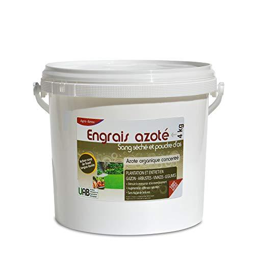 Agro Sens Sang séché, Engrais azoté Coup de Fouet. - Seau 4 kg