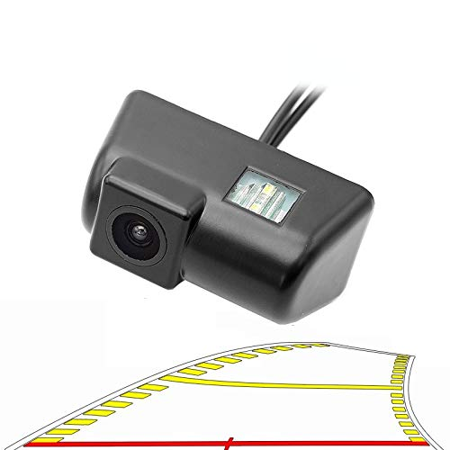 Qwjdsb para Ford Transit, vehículo, trayectoria dinámica, línea de estacionamiento, Marcha atrás, luz de matrícula, cámara de visión Trasera