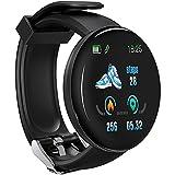 D18S Astuto Della Vigilanza Smartwatch Fitness Orologio con La Pressione Sanguigna Frequenza Cardiaca Sonno Monitor IP65 Impermeabile di Modo Delle Donne Degli Uomini di Fitness