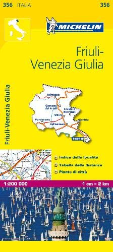Trentino Alto Adige: Map (Mapas Local Michelin)