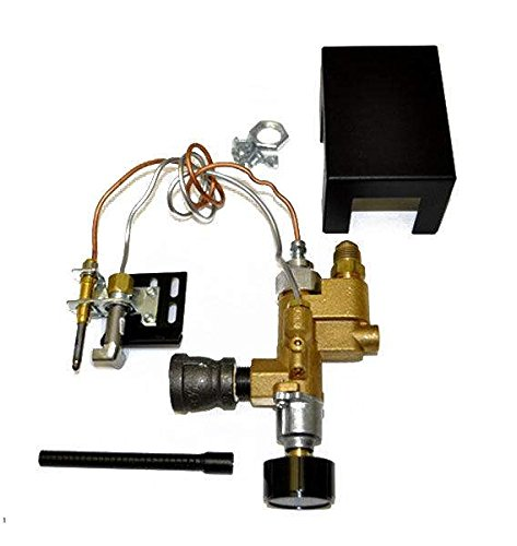 Hearth Products Controls Copreci Fully Assembled Rear Inlet Safety Pilot Kit (SPK-85)