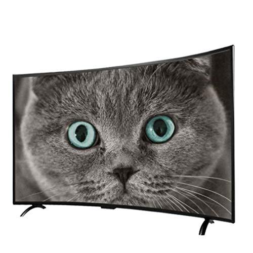 yankai Televisor Curvo HD,4K UHD Smart TV,32/42/46 Pulgadas,Pantalla de Proyección Teléfono Móvil,WiFi Incorporado,Resolución HD 1920 * 1080