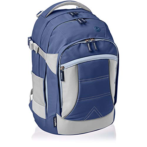 Amazon Basics - Mochila ergonómica (azul marino, 30 litros)