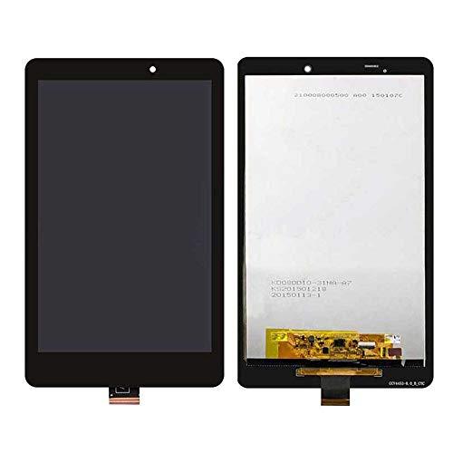 JayTong visualización LCD y digitalizador de visualización táctil de Repuesto Asamblea para Acer Iconia Tab 8 A1-840 Negro
