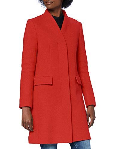 BOSS C_cojulie Abrigo de mezcla de lana, Dark Orange802, 38 para Mujer