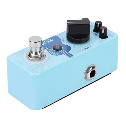Práctico y conveniente Pedal de efecto de guitarra de retardo Pedal de retardo de efecto de guitarra para guitarras eléctricas para guitarra