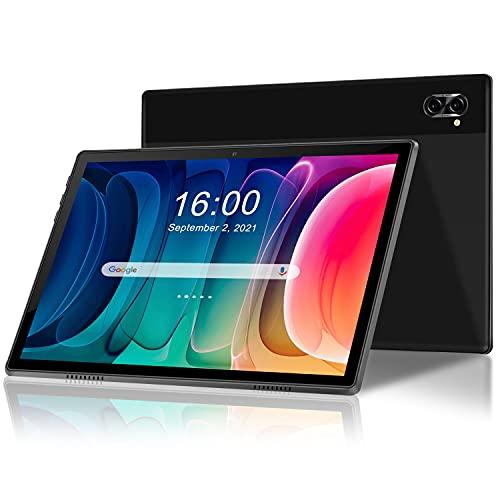 Tableta de 10 Pulgadas Android 10, 5G, WiFi, 4 GB de RAM, 64 GB de ROM, Quad-Core