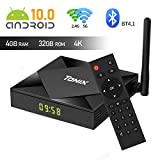 Android 10.0 TV Box, TX6s Android Box Allwinner H616 Quad-core 64 Bits