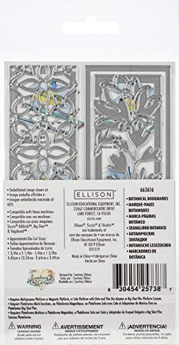 Sizzix Set di Fustelle Thinlits 5 pz Segnalibro Botanico by Courtney Chilton, Multicolore, taglia unica