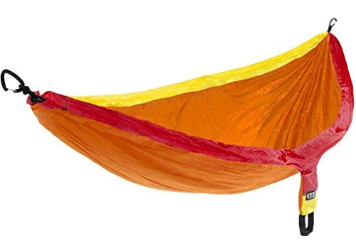 ENO, Eagles Nest Outfitters SingleNest Lightweight Camping Hammock, Sunshine