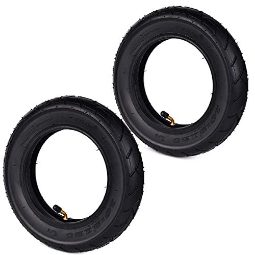 WYDM 10 x 2,125 10 'Neumático + Tubo para Scooter Inteligente de 2 Ruedas con autoequilibrio Monociclo de 10 Pulgadas Paquete de 2 Juegos