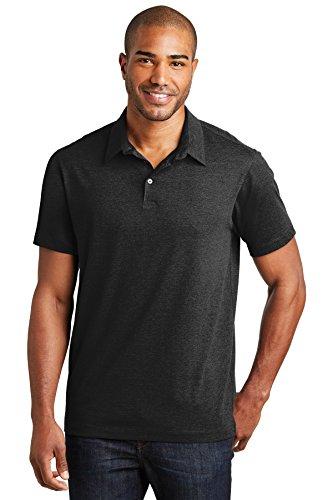 Port Authority® Meridian Cotton Blend Polo. K577 Black L