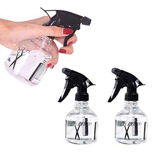 Chytaii 3X Vaporisateur à Main d'eau Spray Vide Pulvérisateur en pour Coiffure/Jardin/Plante/Ménage