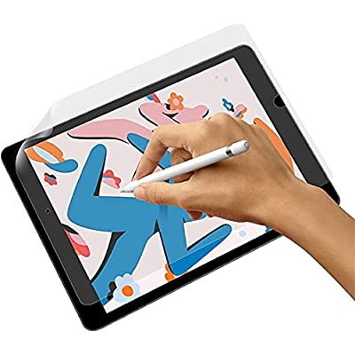 Amazon - 50% Off on Like Paper Screen Protector Compatible with iPad Pro 12.9 Inch, Paper Feel Touch Sensitivity Screen Protector