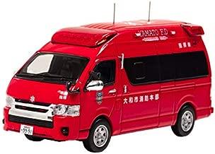CARNEL 1/43 トヨタ ハイメディック 2015 神奈川県大和市消防本部指揮車両 完成品