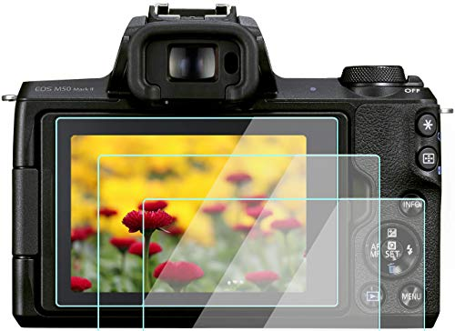 Komet Canon EOS M50 M100 M6 - Protector de pantalla táctil para Canon EOS M50, M100 y M6 cámara (3 unidades)