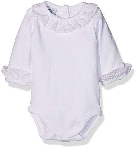 babidu Unisex Baby Body Cuello Batista, Rosa, 3 Monate