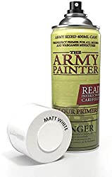 the army painter color primer, matt white