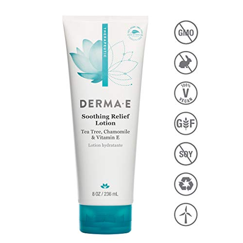 DERMA-E Soothing Relief Lotion, Dry Skin Moisturizer (9500)