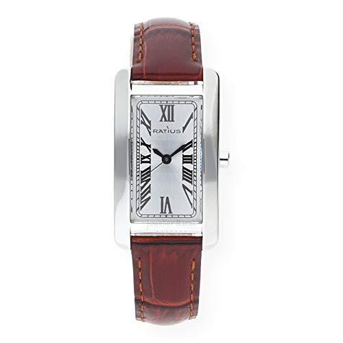 Ratius Damen Uhr 22.3104.25 Leder braun