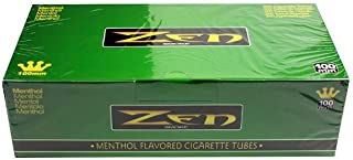 Zen Menthol 100mm Cigarette Tubes (200 Ct/box) 5 Boxes by Zen