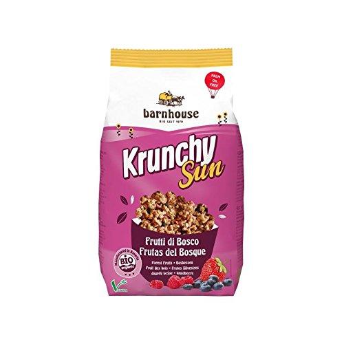 Barnhouse Krunchy Sun Muesli Cereales Frutas Del Bosque, Ecológico, Vegetariano, Vegano - 375 g