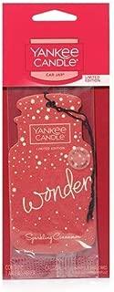 Yankee Candle Classic Car Jar Air Freshener - Christmas (Sparkling Cinnamon)