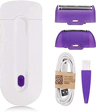 Happenwell Finishing Touch Hair remover trimmer machine for woman (White)