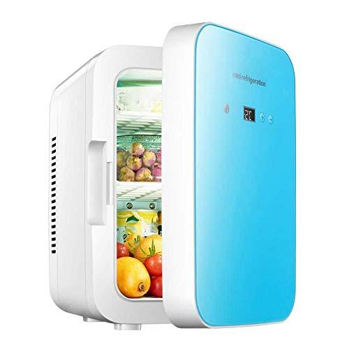Pkfinrd Mini refrigerador 8l Digital Mostrar automóvil Mini refrigerador.Caja refrigerada de insulina.Pequeño refrigerador a casa.
