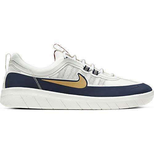 Nike SB Nyjah Free 2 Skateboard Schuhe für Herren (Numeric_44)