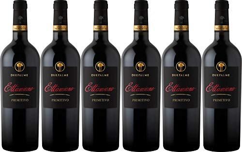 6x Cantine due Palme Primitivo - der italienische Trendwein des Jahres! 2018 - Weingut Cantine due Palme, Puglia - Rotwein
