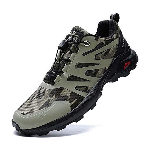 Bitiger Camouflage Mens Sneaker Hiking Shoes Men Waterproof Non Slip Shoes Lightweight Running Shoes...