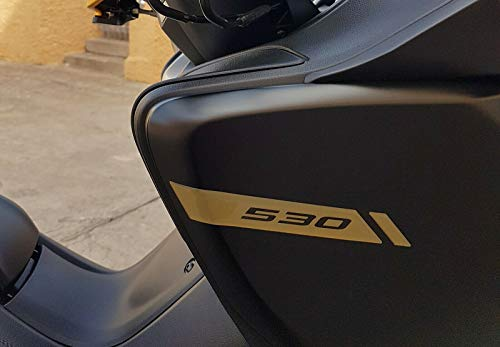 ADESIVI gel 3D PARASPIGOLI CARENE scooter compatibili YAMAHA TMAX 530 2017-2019