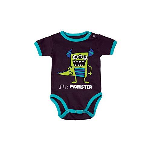 LazyOne Garçon Little Monster Body Bebe Vest 12 Months