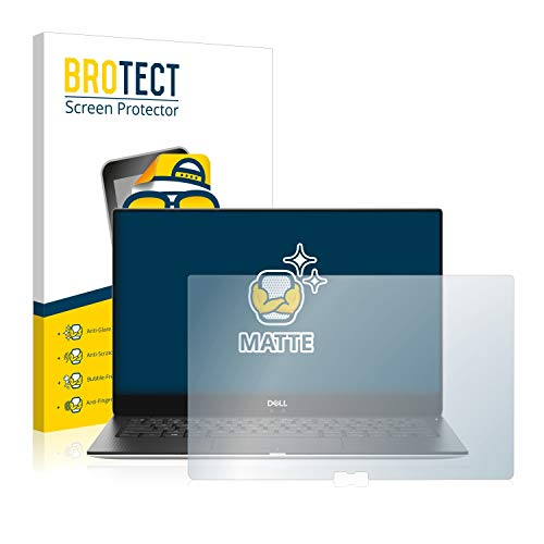 BROTECT Entspiegelungs-Schutzfolie kompatibel mit Dell XPS 13 9370 Bildschirmschutz-Folie Matt, Anti-Reflex, Anti-Fingerprint