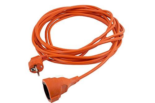 Vetrineinrete® Prolunga elettrica cavo corrente per interno casa e esterno giardino spina 16a presa schuko 220v varie misure 10 metri A32