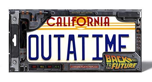 Doctor Collector Back To The Future Replica 1/1 ´Outatime´ Delorean License Plate
