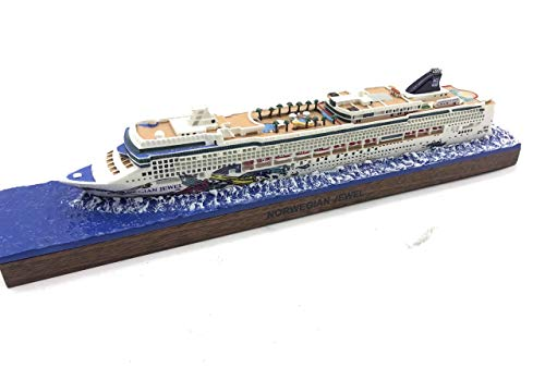 Cruise Ship Model - a Great Nautical Decorative / Friendship Gift for Your Lover (Large, Norwegian Jewel)