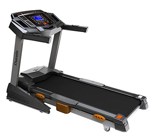 Durafit Heavy- Hike 2.5HP (Peak 5.0 HP) Motorized Foldable Treadmill with Auto-Incline