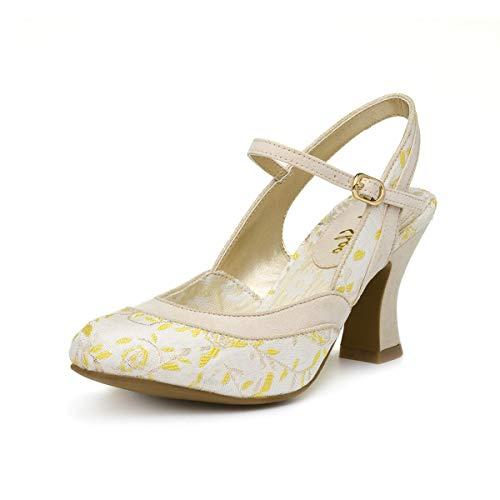 Ruby Shoo Lucia Womens Shoes White