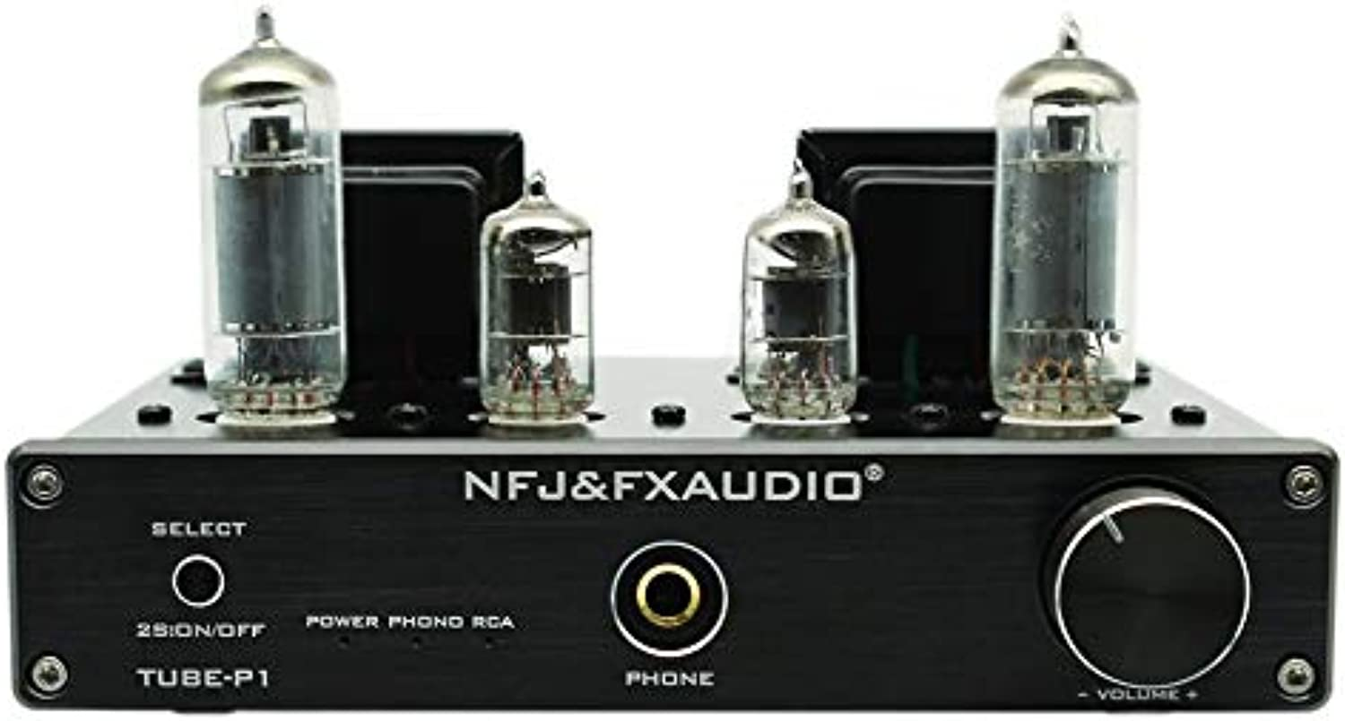 Mouchao FX-AUDIO Amplifier Vinyl Record Amp Output Single-ended Class A Tube Mini