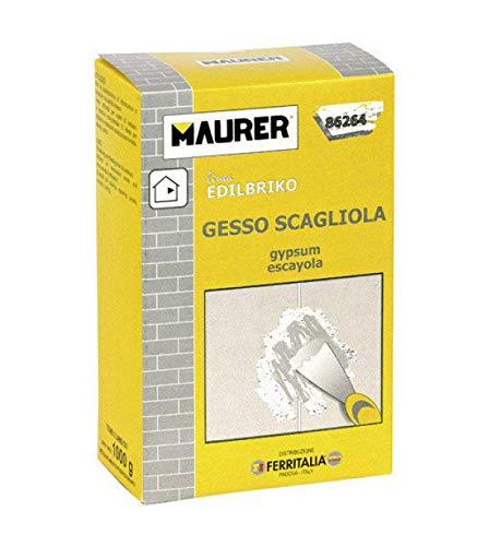 MAURER 14010330 Edil Escayola (Caja 1 kg.)