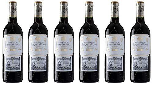 6x Marqués Reserva 2015 - Weingut Marques de Riscal, La Rioja - Rotwein