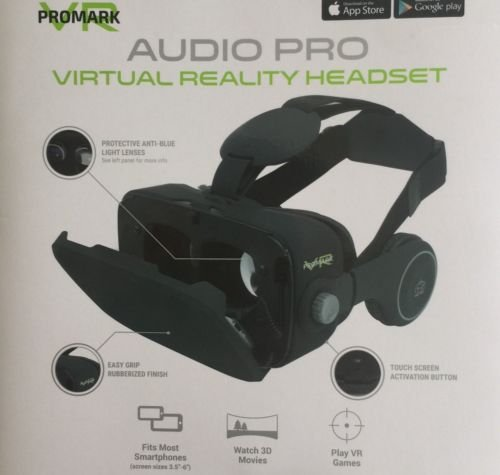 Best Prices! ProMark 3D movies Virtual Reality Goggles With Built In Headset