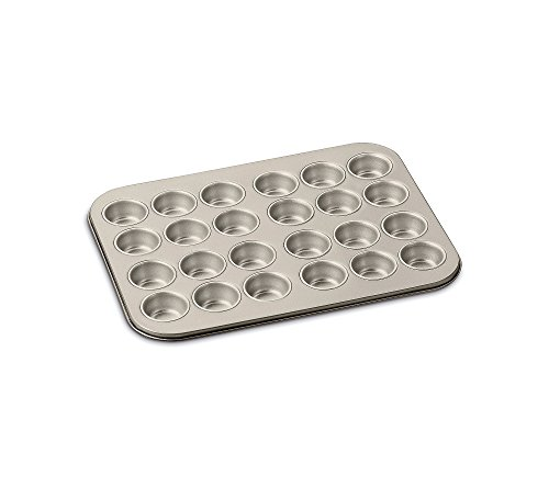 24 Cup Mini Muffin Pan Color: Champagne