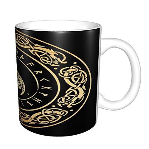 Ravens Norse Mythology - Taza de café para abuela, regalo mágico, regalo para el día de la madre, regalo para el día de la madre, regalo de cumpleaños para la abuela